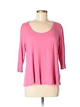 Eileen Fisher 3/4 Sleeve T-Shirt Size M