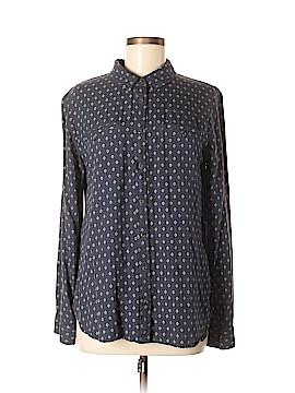 Treasure & Bond Long Sleeve Button-Down Shirt Size M