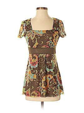 New York & Company Short Sleeve Top Size S