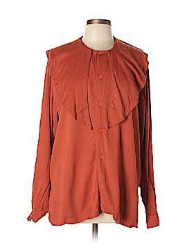 Emporio Armani Long Sleeve Button-Down Shirt Size L