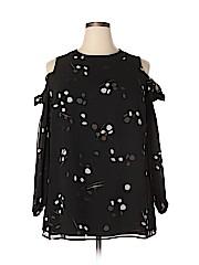 Alfani Women Long Sleeve Blouse Size 16W