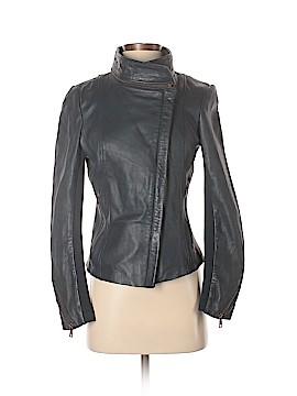 Sam Edelman Leather Jacket Size XS