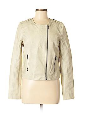 Rhyme & Echo Faux Leather Jacket Size M