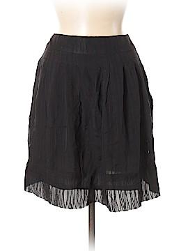 Claudia Ciuti Silk Skirt Size M