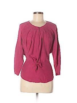 Ulla Johnson 3/4 Sleeve Silk Top Size 4