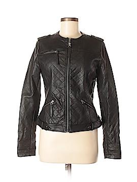 XOXO Faux Leather Jacket Size M
