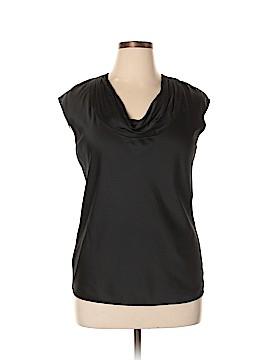 AK Anne Klein Short Sleeve Blouse Size L