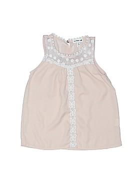 Monteau Girl Sleeveless Blouse Size 4T
