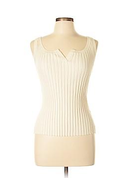 August Silk Silk Pullover Sweater Size L