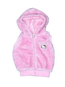 Hello Kitty Faux Fur Vest Size 4T