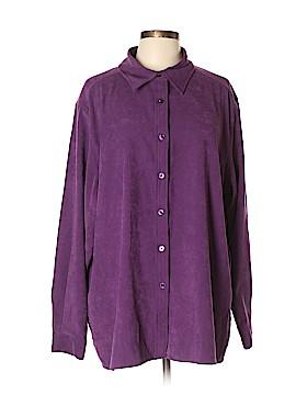 Denim + Company Long Sleeve Blouse Size XL