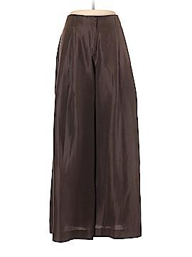 Giorgio Armani Silk Pants Size 48 (IT)