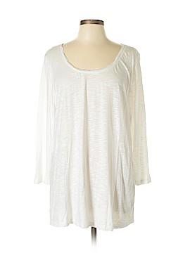 J.jill 3/4 Sleeve T-Shirt Size L (Tall)