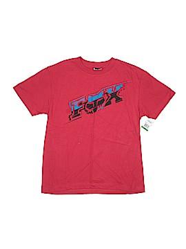 Fox Short Sleeve T-Shirt Size L (Youth)