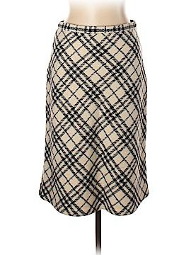 Burberry Wool Skirt Size 10