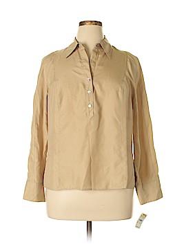 Talbots Long Sleeve Blouse Size 16
