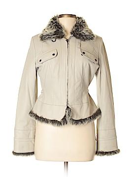 Nic + Zoe Leather Jacket Size M