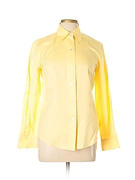 Ellen Tracy Long Sleeve Button-Down Shirt Size 4