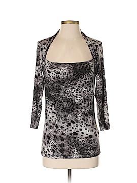 Velvet 3/4 Sleeve Top Size L