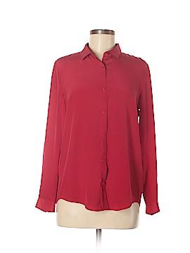 The Kooples Long Sleeve Silk Top Size S