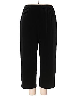 Alex Evenings Velour Pants Size 2X (Plus)