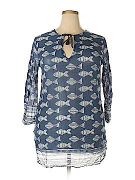 Rock Flower Paper Casual Dress Size L