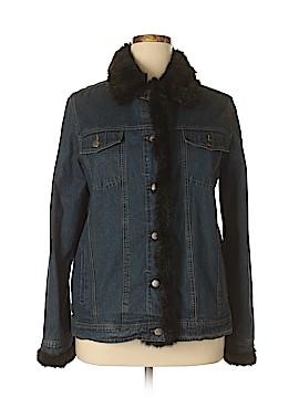 Dennis Basso Denim Jacket Size L