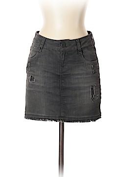 Leara Woman Denim Skirt Size 2