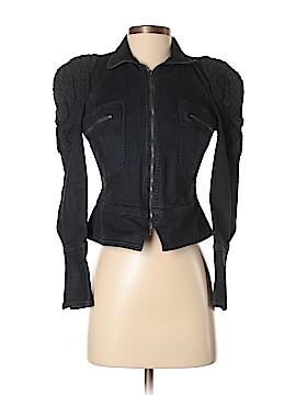 Marchesa Voyage Denim Jacket Size XS