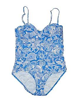 Eddie Bauer One Piece Swimsuit Size 12
