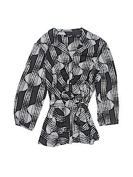 Essentials Long Sleeve Button-Down Shirt Size M