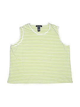 Denim Co Sleeveless T-Shirt Size 1X (Plus)
