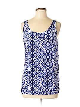Anne Carson Sleeveless Silk Top Size M