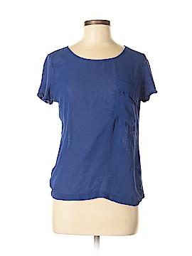 Mango Short Sleeve Blouse Size M