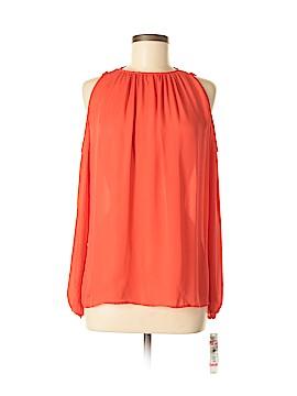 Antonio Melani Long Sleeve Silk Top Size S