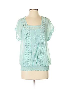 Jennie & Marlis Short Sleeve Blouse Size S
