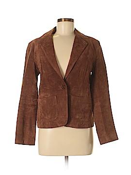 New York & Company Leather Jacket Size 6