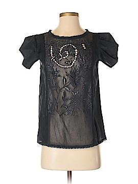 Tibi Short Sleeve Blouse Size 4