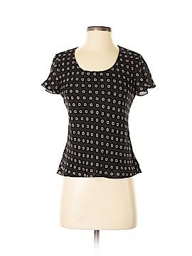 Jones New York Short Sleeve Silk Top Size 4 (Petite)