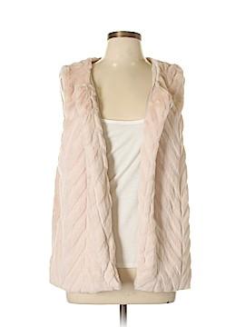 Signature Studio Faux Fur Vest Size L