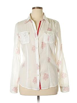 Melissa Long Sleeve Button-Down Shirt Size L