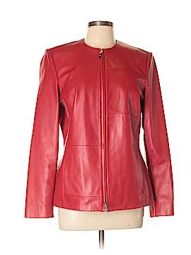 Classiques Entier Leather Jacket Size 12