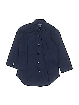 Ralph Lauren Sport Long Sleeve Button-Down Shirt Size X-Small  (Kids)