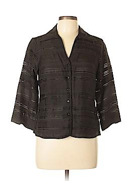 Talbots 3/4 Sleeve Button-Down Shirt Size 12 (Petite)