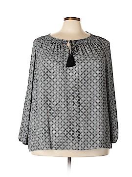 Jones New York 3/4 Sleeve Blouse Size 3X (Plus)