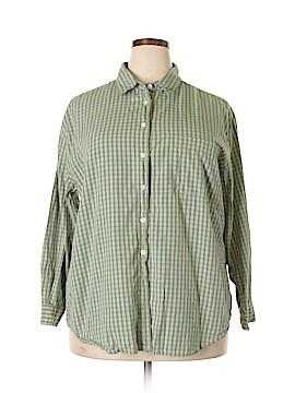 Carolina Colours Long Sleeve Button-Down Shirt Size 20 (Plus)