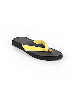 Rainbow Flip Flops Size 8