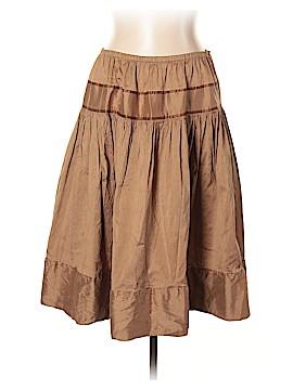Calypso St. Barth Silk Skirt Size Lg (2)