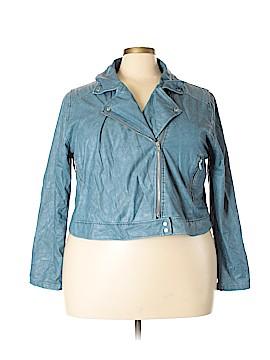 Lyssé Faux Leather Jacket Size 1X (Plus)