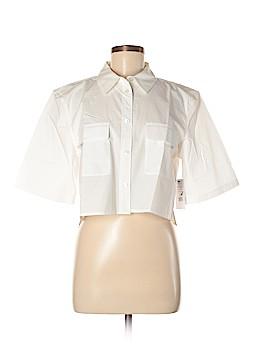 Equipment Short Sleeve Button-Down Shirt Size M